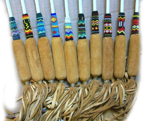 native american powwow drum stick