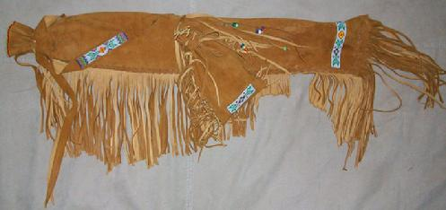 native american powwow drum stick bag